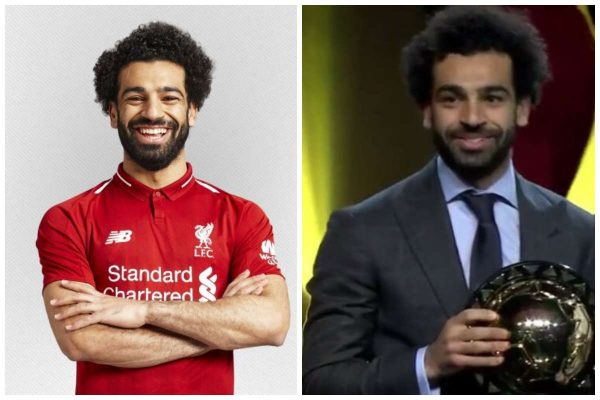 Mohamed Salah wins 2018 CAF Player of the Year award lailasnews